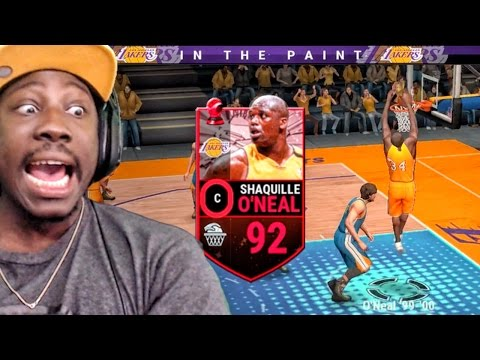 SHAQ DUNKING & SHOOTING 3 POINTERS! NBA Live Mobile 16 Gameplay Ep. 23