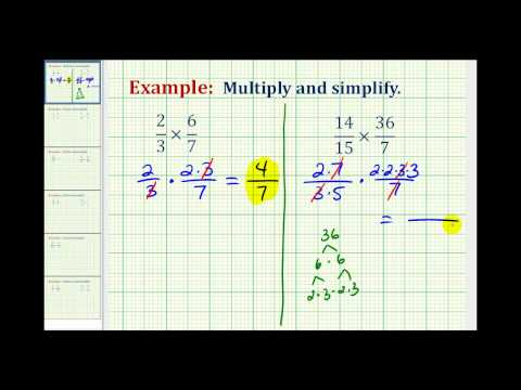 Multiplication Involving Fractions