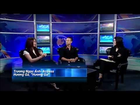 THE VICTORIA TỐ UYÊN SHOW: Phỏng vấn Trương Ngọc Ánh & Kim Lý trong phim'Hương Ga'