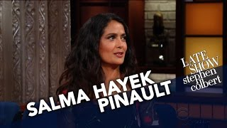 Salma Hayek Pinault Is Overflowing With Mexican Pride