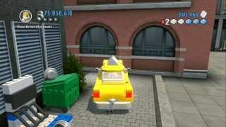 LEGO City Undercover (Wii U) Unlocking All Worker