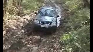 Honda CRV offroad videos