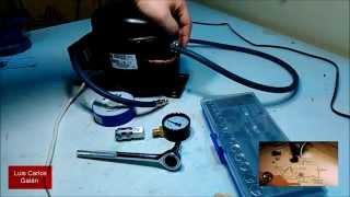 Probar el funcionamiento del motor de refrigerador