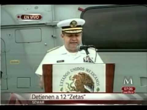 Presenta Semar a 8 presuntos Matazetas y a 12 Zetas detenidos ayer en veracruz