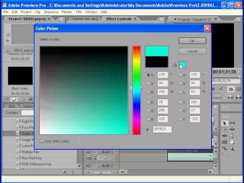 Giáo trình Adobe Premiere CS2 chương 4-TAO DOAN PHIM DEM NGUOC.avi