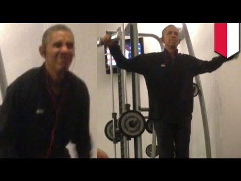Obama workout photos: Leaked pics show president's bad form