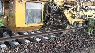 Как се строят железопътни линии в 21 век!!!