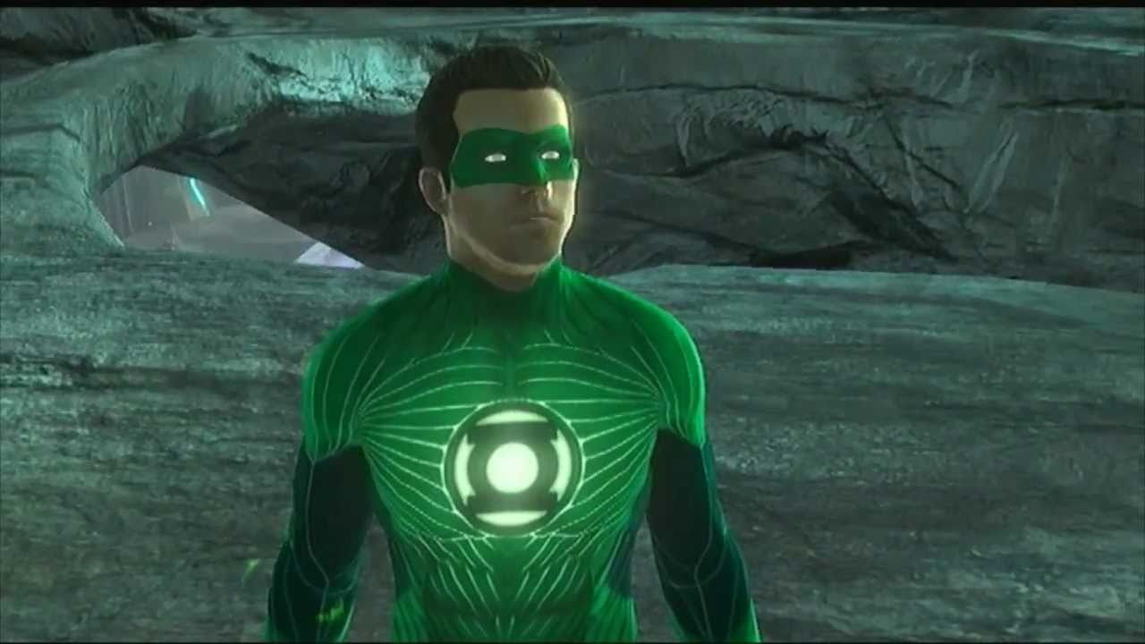 green lantern rise of the manhunters review gameplay german
