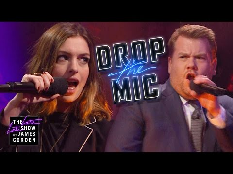 Drop the Mic w/ Anne Hathaway