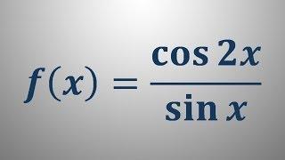 Odvod trigonometrične funkcije 13