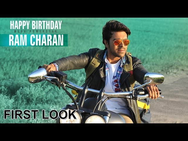 Ram Charan Latest Movie First Look - Govindudu Andarivadele Movie - Ram Charan, Kajal Agarwal