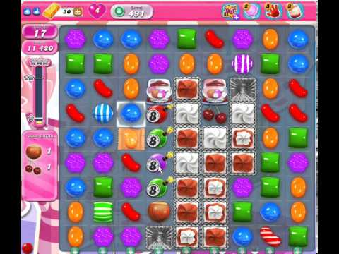 candy crush saga 491 & candy 491 - YouTube