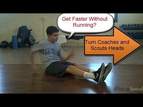 Baseball 60 Yard Dash: How to Run Faster: Speed Training For Baseball