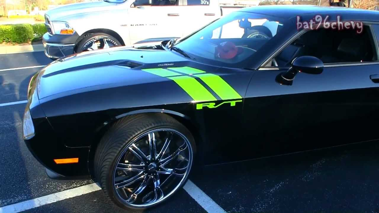 2011 Dodge Challenger R T On 24 S 26 S 1080p Hd Youtube