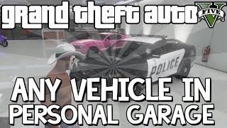 GTA 5 Online Glitch: How To Store ANY Car In Your Personal Garage (GTA V Multiplayer) Full Tutorial