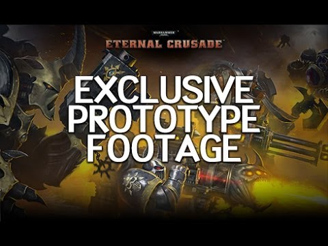 Warhammer 40K: Eternal Crusade - Prototype Footage