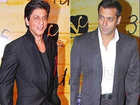 Salman Khan Forces Shahrukh Khan To Say JAI HO At Star Guild Awards 2014