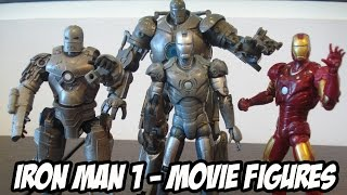 IRON MAN FIGURES REVIEW Review Dos Bonecos Do Primeiro