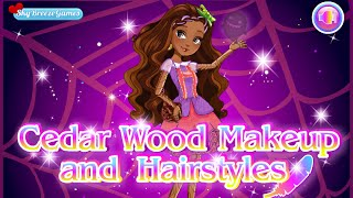 Ever After High- Cedar Wood Makeup And Hairstyles- Fun
