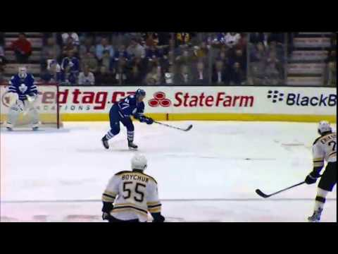 Ranger 1-0 Goal - Bruins vs. Maple Leafs (Apr 3, 2014)