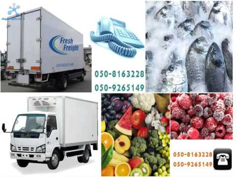 Fresh Freight Refrigerated truck,chiller van Transport Dubai UAE