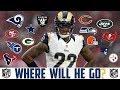 2018 NFL FREE AGENCY PREDICTIONS TRUMAINE JOHNSON Rams Raiders Texans Bucs Packers Steelers Niners