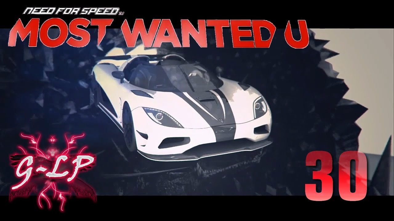 let 39 s play need for speed most wanted u wii u 30 most. Black Bedroom Furniture Sets. Home Design Ideas