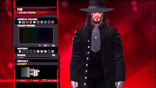 WWE 2K14 Superstar Threads Undertaker Retro Wrestlemania