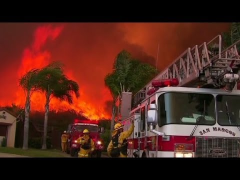 Raging California wildfires turn deadly