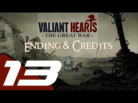 Valiant Hearts: The Great War - Walkthrough Part 13 - Final Stage & Ending