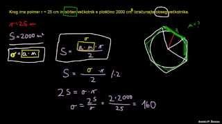 Ploščina n-kotnika – primer 2