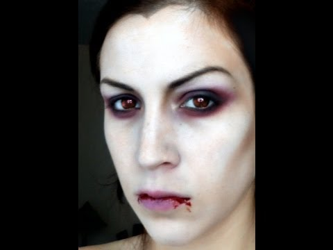 Maquillage d 39 halloween vampire youtube - Image maquillage halloween ...