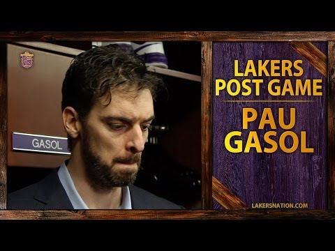 Lakers vs. Clippers: Pau Gasol Asked Whether He's Questioned Management's Decisions