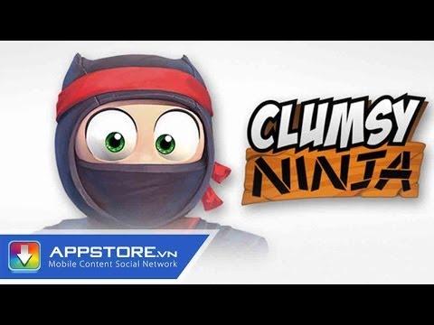 [Game] Clumsy Ninja - Trường luyện Ninja - AppStoreVn