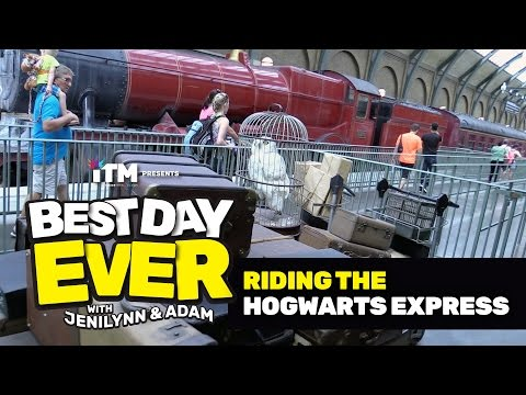 BEST DAY EVER: Riding the Hogwarts Express (Universal Orlando)