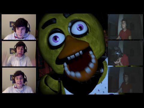 MORREMOS DE SUSTO! - Five Nights at Freddy's MULTIPLAYER!