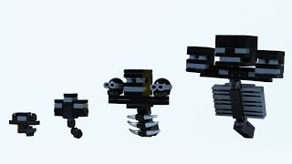 How To Build: LEGO Minecraft Wither