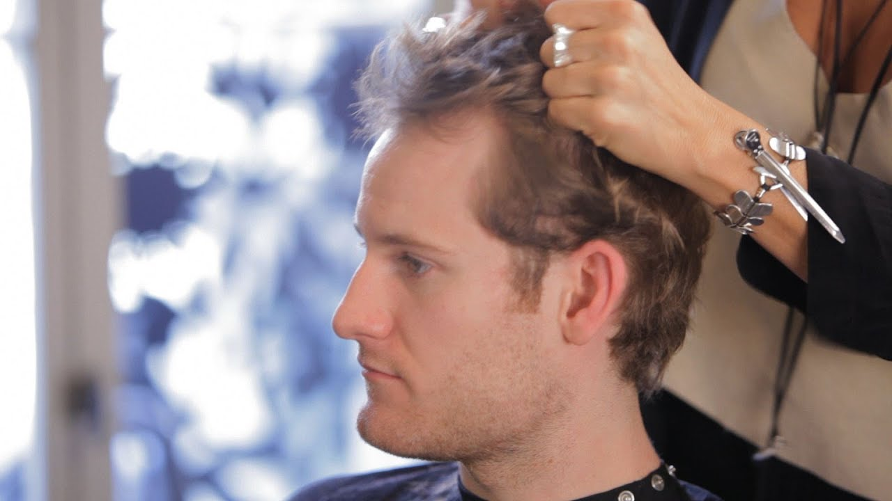 How to Hide Thinning Hair   Men's Grooming - YouTube