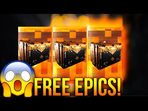 INFINITY WARD GIVING AWAY 3 EPIC SUPPLY DROPS TO INFINITE WARFARE PLAYERS! (FREE EPIC SUPPLY DROPS!)