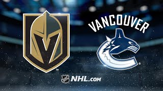 Golden Knights top Canucks in SO, 5-4