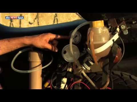 دراجة نارية تعمل بالماء