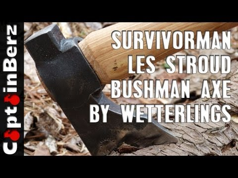 Survivorman Les Stroud Bushman Axe by Wetterlings (Review)