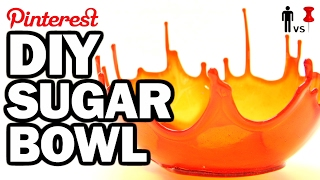 DIY SUPER SUGAR BOWL - Man Vs Pin #106
