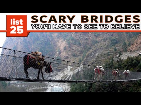 25 Scary Bridges You[ES][SQ]ll Have To See To Believe