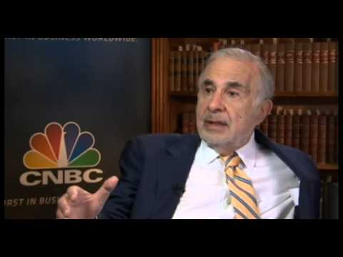 Carl Icahn 2014 Interview Part 2 About Apple, eBay & Bill Ackman