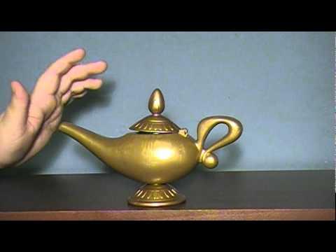 Disney's Aladdin: Genie's Magic Message Lamp - YouTube