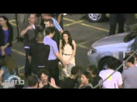 Robert Pattinson and Kristen Stewart Cute Hand Holding in Rio