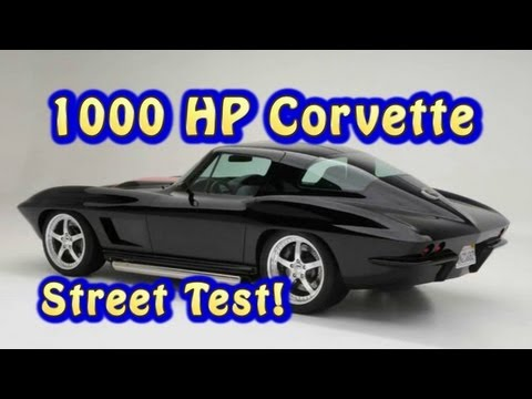 1000 HP Corvette Street Test from Nelson Racing Engines.