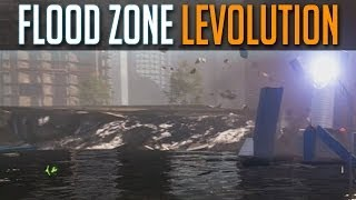 BF4 Flood Zone LEVOLUTION - How To Flood Map - Battlefield 4 Launch