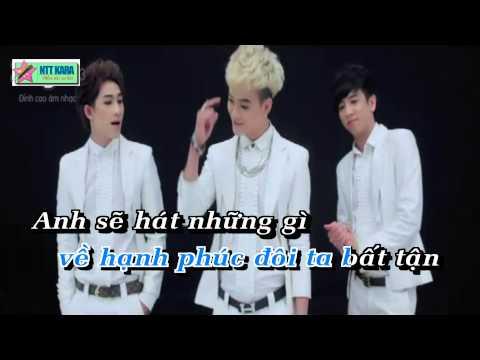 [Karaoke] Tình Yêu Bất Tận - HKT (beat phối)